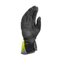 Clover Sr-3 Gloves Black Fluo Yellow