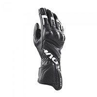 Clover St 02 Gloves Black White