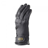 Clover Tazio R Leather Gloves Black