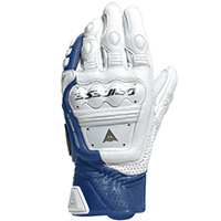 Dainese 4 Stroke 2 Gloves White Blue