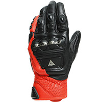 Dainese 4 Stroke 2 Gloves Black Red
