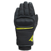 Dainese Avila D-dry Gloves Black Yellow