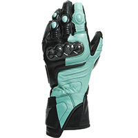 Dainese Carbon 3 Lady Gloves Black Aqua