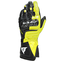 Dainese Carbon 3 Long Gloves Black Fluo Yellow