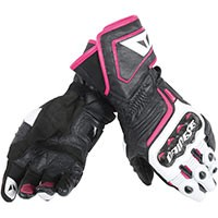 Dainese Carbon D1 Long Gloves Lady Fuchsia