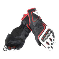 Dainese Carbon D1 Long Gloves White