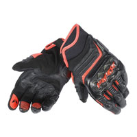 Dainese Carbon D1 Short Gloves Red