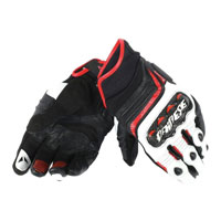 Dainese Carbon D1 Short Gloves White