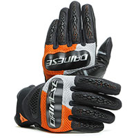 Gants Dainese D-explorer 2 Noir Orange Gris