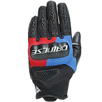 Dainese D-explorer 2 Gloves Black Red Blue