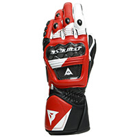 Dainese Druid 3 Gloves White Lava Red