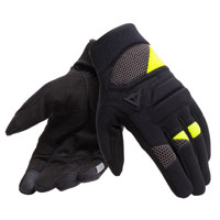 Dainese Fogal Gloves Black Yellow