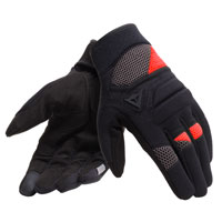 Dainese Fogal Gloves Black Red