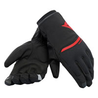 Dainese Guanti Plaza 2 D-dry Rosso