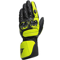 Dainese Impeto Gloves Black Yellow