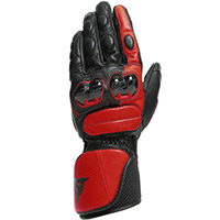 Dainese Impeto Gloves Black Lava Red