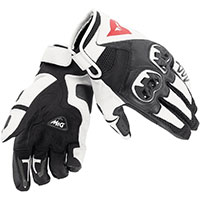 Dainese Mig C2 Gloves Black White