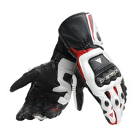 Dainese Steel-pro Gloves White Red