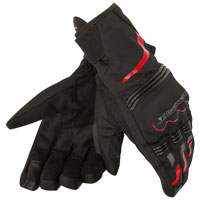 Dainese Tempest D-dry Short Gloves Rosso
