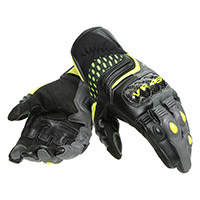Guantes Dainese VR46 Sector Short amarillo fluo