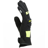 Guantes Dainese VR46 Curb Short negro amarillo