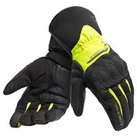 Dainese X-tourer D-dry Gloves Yellow