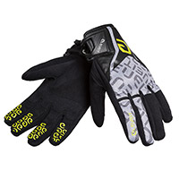 Eleveit Rt1 Gloves Black Yellow