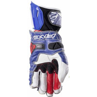 Five Rfx Race Gloves White Blue
