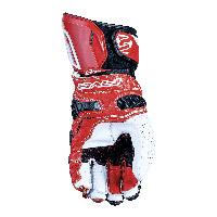 Guanti Five Rfx Race Bianco Rosso