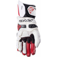Five Rfx Race Gloves White Red