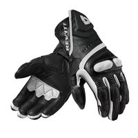 Rev'it Metis Gloves Black White