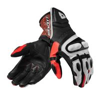 Rev'it Metis Gloves Black Red