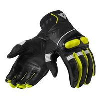 Guanti Moto Rev'it Hyperion Nero Giallo