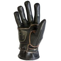Helstons Basik Pull Up Gloves Brown