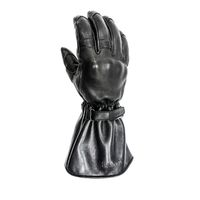 Helstons Challenger Leather Gloves Black