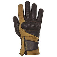 Helstons Curtis Hiver Britwax Gloves Brown