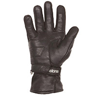 Helstons Curtis Hiver Britwax Gloves Black