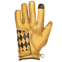 Helstons Diamond Hiver Gloves Gold Black