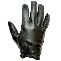 Helstons Hiro Soft Leather Gloves Black