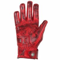 Helstons Lightning Ladies Gloves Red