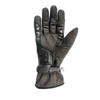 Helstons One Gloves Black Brown