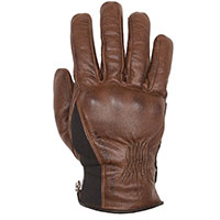Helstons Pure Hiver Leather Gloves Camel Black