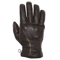 Helstons Pure Hiver Leather Gloves Black