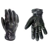 Helstons Spartan Leather Gloves Black