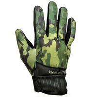 Guanti Moto Helstons Sporting Camo Verde Militare