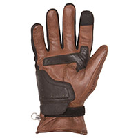 Helstons Vertigo Hiver Leather Gloves Camel Black