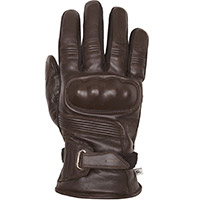 Helstons Vertigo Hiver Leather Gloves Brown