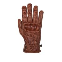Helstons Vitesse Pro Crust Leather Gloves Camel