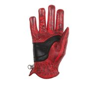 Guanti Donna Helstons Zigy Soft Rosso Nero Donna