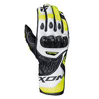 Ixon Rs Circuit-r Gloves Black White Yellow